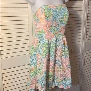 Lilly Pulitzer Lottie Strapless Dress
